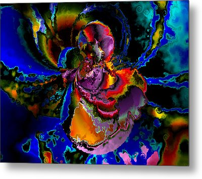 Assault By The Blues Metal Print