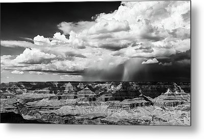 Assault On The North Rim Metal Print by Jay Beckman