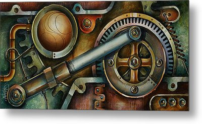 'assembled' Metal Print by Michael Lang