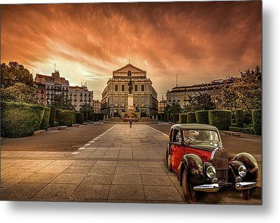 Assignation Metal Print by Marty Garland
