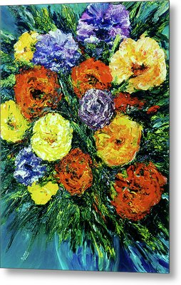 Assorted Flowers #191 Metal Print by Donald k Hall