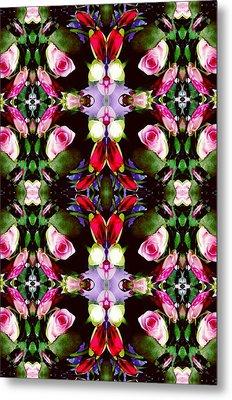 Assortment Of Flower  Metal Print