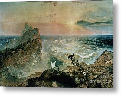 Assuaging Of The Waters Metal Print by John Martin