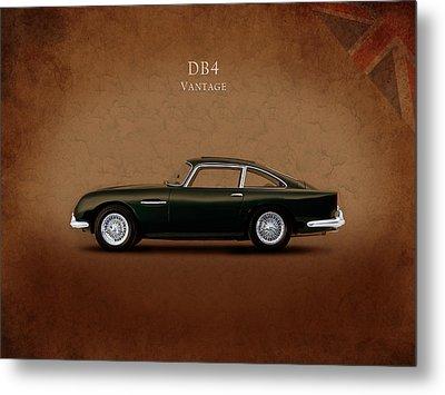 Aston Martin Db4 Vantage Metal Print by Mark Rogan