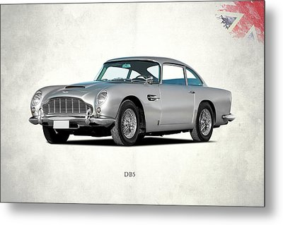 Aston Martin Db5 Metal Print by Mark Rogan