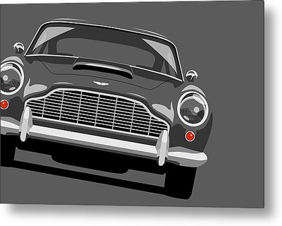 Aston Martin Db5 Metal Print by Michael Tompsett