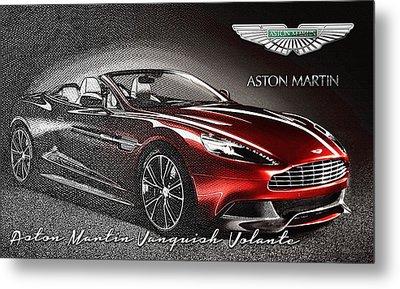 Aston Martin Vanquish Volante  Metal Print by Serge Averbukh