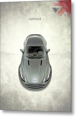 Aston Martin Vantage Metal Print by Mark Rogan
