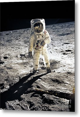 Astronaut Metal Print by Photo Researchers