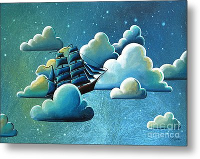 Astronautical Navigation Metal Print by Cindy Thornton