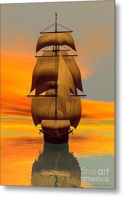 At Full Sail Metal Print