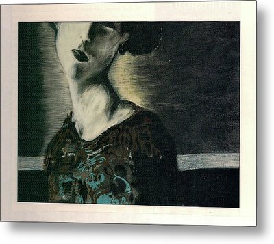 At Her Gaze Metal Print
