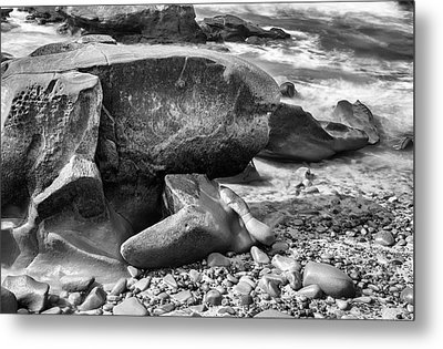 At Low Tide Metal Print by Joseph S Giacalone