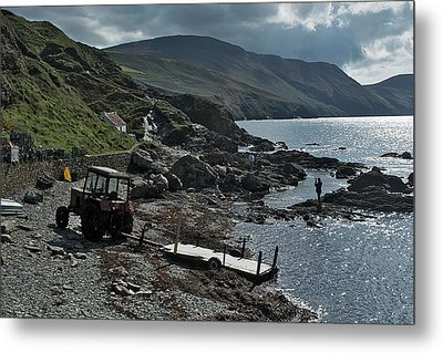 At Niarbyl Point Metal Print by Steve Watson