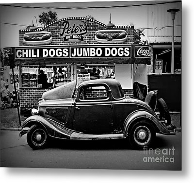 At Peter's 2 Metal Print by Perry Webster