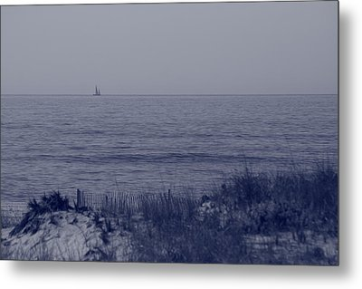 At Sea Metal Print by Christopher Kirby