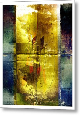 At Sea Metal Print by Geoff Ault
