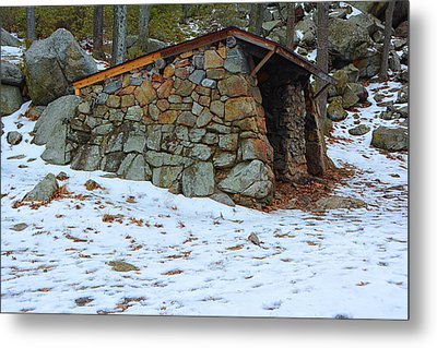 At Shelter In Harriman State Park Metal Print by Raymond Salani III
