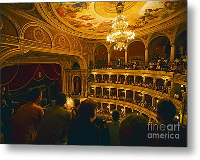 At The Budapest Opera House Metal Print