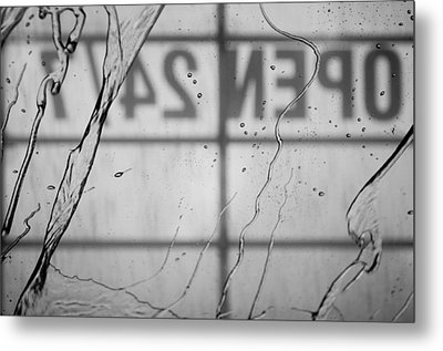 Metal Print featuring the photograph At The Car Wash by Colleen Coccia
