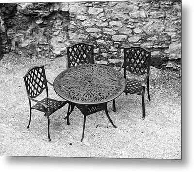 At The Castle Metal Print by Rae Tucker