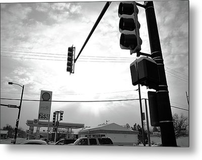 Metal Print featuring the photograph At The Crossing by Jeanette O'Toole