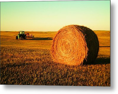 At The End Of Day Metal Print by Jeff Swan