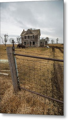 At The Gate  Metal Print by Aaron J Groen