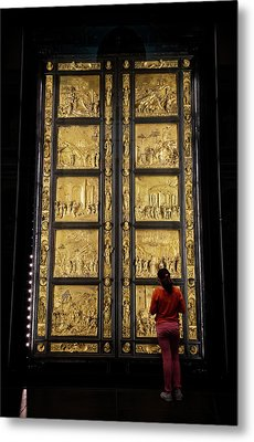 Metal Print featuring the photograph At The Gates Of Paradise by Joan Carroll