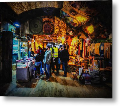 At The Grand Bazaar Metal Print by Steve Taylor