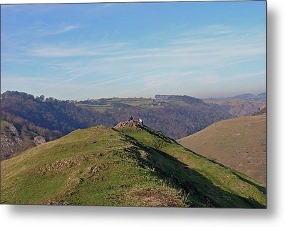 At The Peak Metal Print by Rod Johnson