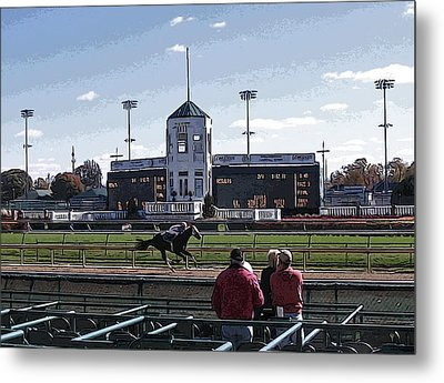 At The Races - Almost There Metal Print