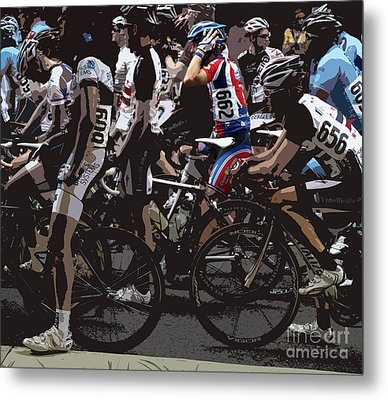 At The Starting Gate Metal Print by Steven Digman
