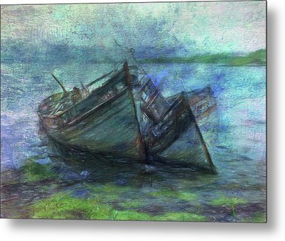 At The Water's Edge Metal Print by Sarah Vernon