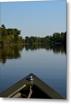 Atchafalaya Basin 6 Metal Print by Maggy Marsh