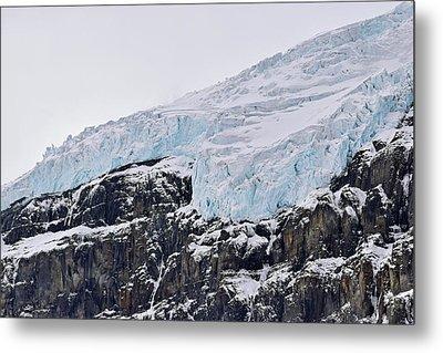 Athabasca Glacier No. 80-1 Metal Print