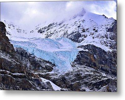 Athabasca Glacier No. 9-1 Metal Print