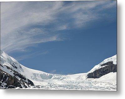 Athabasca Glacier Vista Metal Print