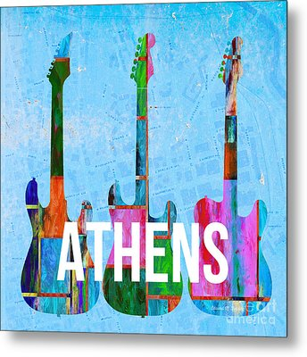 Athens Ga Music Scene Metal Print