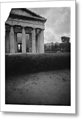 Athens Temple Of Ephesus Metal Print by Luca Baldassari