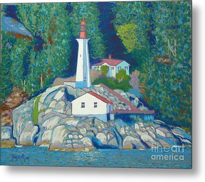 Atkinson Point Lighthouse Metal Print by Rae  Smith  PSC