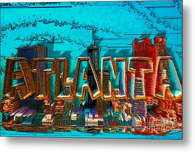 Atlanta 2016 By Nico Bielow Metal Print by Nico Bielow