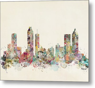 Atlanta City Metal Print by Bri B