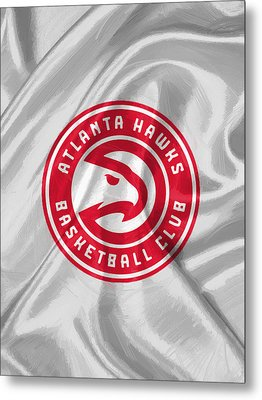 Atlanta Hawks Metal Print by Afterdarkness