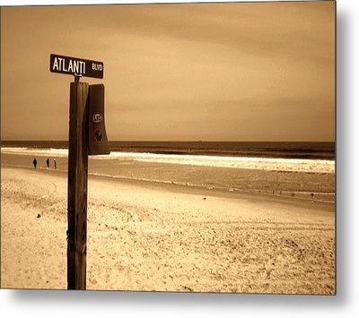 Atlantic Beach Metal Print