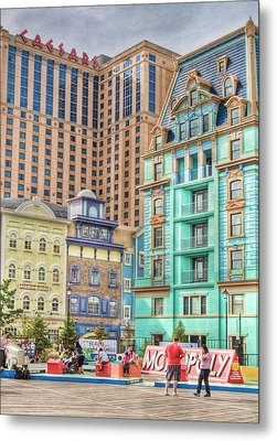 Metal Print featuring the photograph Atlantic City Boardwalk by Matthew Bamberg