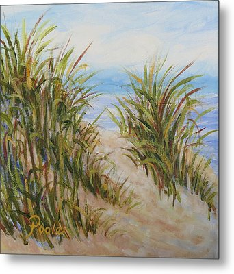 Atlantic Dunes Metal Print
