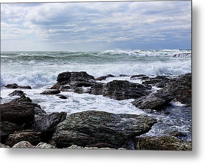 Metal Print featuring the photograph Atlantic Scenery by Andrew Pacheco