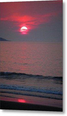 Atlantic Sunrise Metal Print