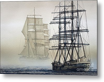 Atlas And Inverclyde Metal Print by James Williamson